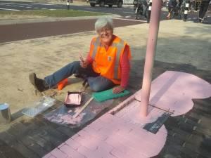 2 Tap-Art NSG Olifant in de maak-Lisa Borsten-Quackplein Nijmegen-Green Capital Challenge Water-© Marianna Bakker