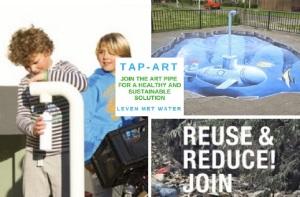 Tap-Art-water tappunten Nijmegen-Leven met Water-Green Capital Challenges-© MariannA Bakker
