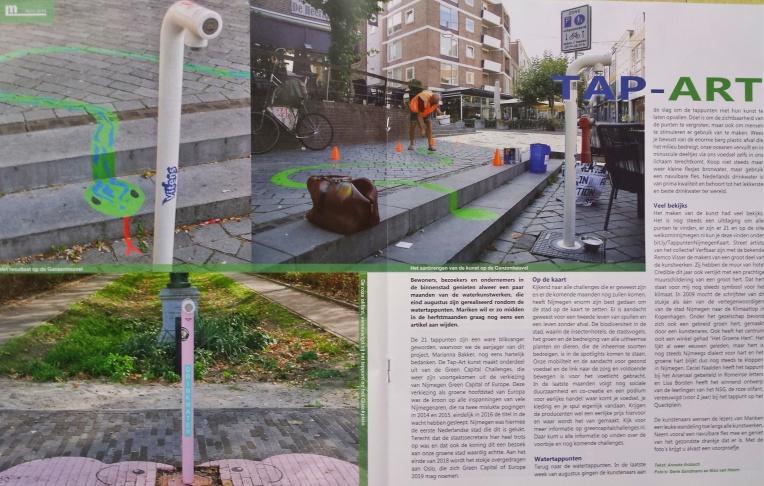 18 10 PR Tap-Art in Mariken Magazine 2 A4 - Remco en NSG roze olifant
